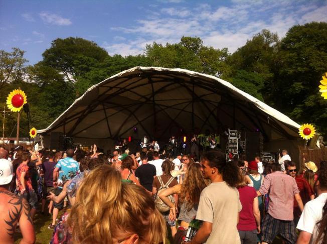The Devorgilla Stage  (photo Teri Welsh)
