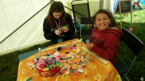 Hannah_Ciara Kids Tent